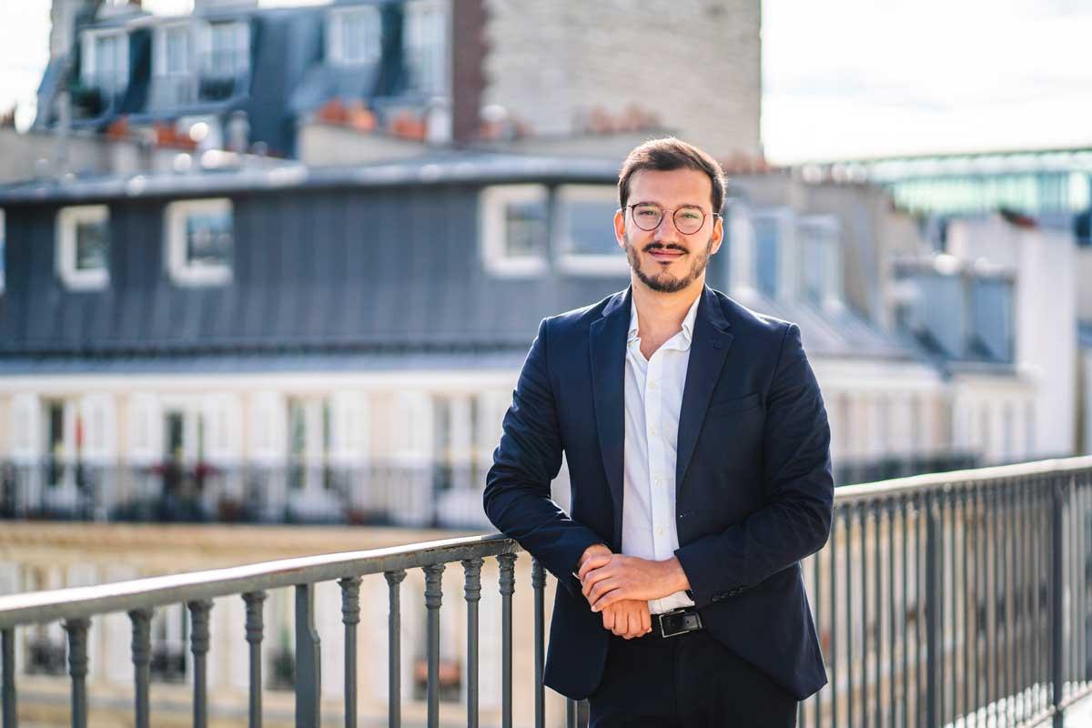 Dorian Ciavarella, fondateur de la start-up Hivency